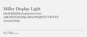 Miller Display Light Typography Part 1 Visualizing Architecture