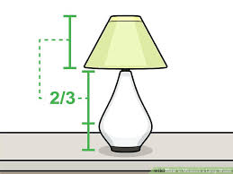 how to measure a lamp shade image titled measure a lamp shade step 9 how to