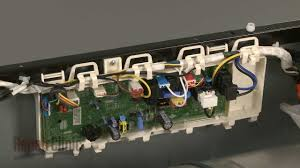 lg electric dryer control board replacement ebr62707647 youtube Need To Replace Wiring Harness On Lg Dle7177rm lg electric dryer control board replacement ebr62707647