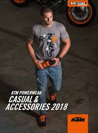 2018 ktm catalogue. interesting catalogue ktm powerwear casual and accessories 2018 catalog throughout ktm catalogue blog