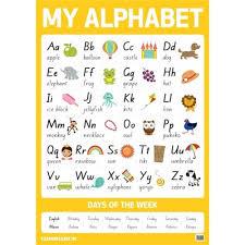 My Alphabet Chart Warwick My Literacy 1 Wall Chart Alphabet