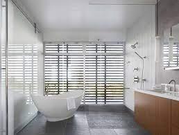 Best 60 Modern Bathroom Slate Floors Design Photos And Ideas Dwell
