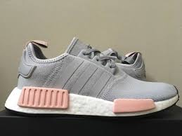 adidas shoes nmd grey and pink. adidas nmd r1 w vapour grey light onix pink offspring by3058 onyx women\u0027s 10 shoes nmd and