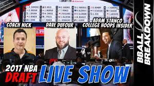2017 NBA Draft Live Show And Analysis ...