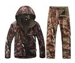 Camouflage <b>hunting</b> clothes Shark skin soft shell lurkers <b>tad</b> v 4.0 ...