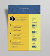 Free Beautiful Resume Template For Illustrator Ai Format