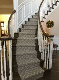 Designer Carpet For Stairs Carpet Runner On Curved Staircase Stair Decor Carpet