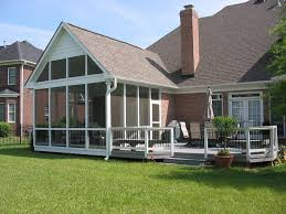 Image of: Screen Porch Designs Style