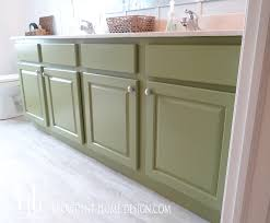 behr bathroom paintHow to Paint a Bathroom Vanity like a Professional