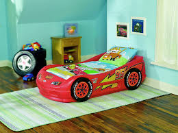 Lightning Mcqueen Bedroom Decor Cars 2 Lightning Mcqueen Sports Car Twin Bed It Is The Best