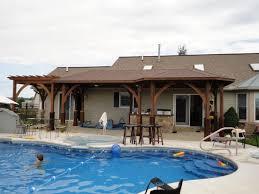 Kitchen:24 Pool House Designs Outdoor Kitchen One Best Design 159401 Outdoor  Kitchen In The