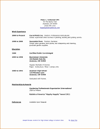 High School Student Resume First Job Sample High School Student Resume Luxury High School Student 2