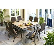 hampton bay patio set barnsley 5 piece dining furniture home depot canada cushions