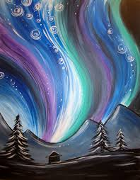 northern lights muse paintbar events painting cl painting calendar paint and wine