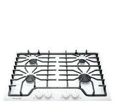 white glass gas cooktop 30 inch in by la kitchen fascinating exciting 30 inch white gas cooktop glass