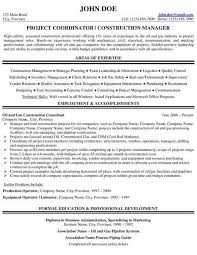 Sample Project Manager Resume Beautiful Hr Coordinator Resume