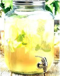 glass beverage dispenser with metal spigot beverage dispenser with metal spigot glass drink dispenser with metal