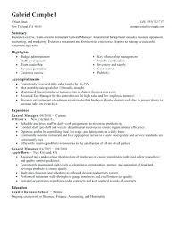 Resume For General Jobs Sample Blue Collar Thekindlecrew Com