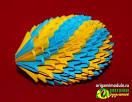 Схема модульного яйца из оригами