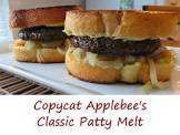 applebee s classic patty melt  copycat