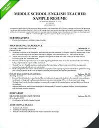 Cover Letter Example Resume Teacher Resume Cover Letter Examples