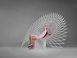 high design furniture. Fan Chair., Peacock Design, Art , Lounge High Style Design Furniture