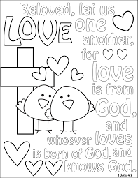 Though i speak with the tongues of men and of angels, but have not love, i have become sounding brass or a clanging cymbal. the verse is referenced in episode 34 of season 2 of in treatment. John 13 34 Coloring Page
