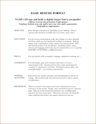 Impressive Resume References Example Format With Resume Resume