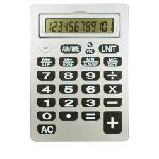 Reizen 12 Digit Jumbo Talking Calculator
