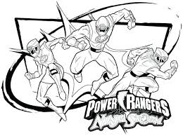 Power Ranger Coloring Page Power Rangers Coloring Pages Power