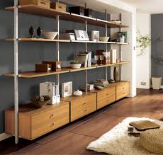 Living Room Wooden Wall Shelves Ganzeeshops