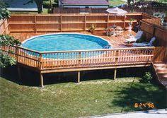 above ground pool decks. Above Ground Pool Deck Kits   Pools Gallery Decks S