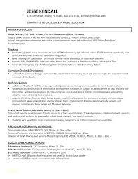 Resume Objectives For Teachers Cool Teacher Resume Objective Template Resume Format Download