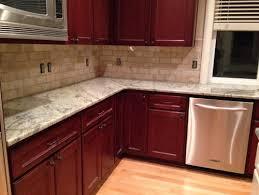 kitchen backsplash cherry cabinets. Delighful Cabinets Inside Kitchen Backsplash Cherry Cabinets