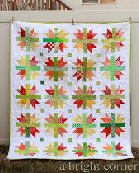 223 best Half Square Triangle quilts images on Pinterest | Half ... & Scrappy New England quilt via A Bright Corner Adamdwight.com