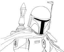 Astounding Boba Fett Coloring Page Amazing Coloring Pages For Your