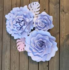 Paper Flower Photo Booth Backdrop Set Of 3 Paper Flowers For Flower Photobooth Backdrop And Home Decoration Paper Flower Wall Decor