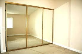 mirror closet door replacement glass medium size of replacing mirrored doors home depot sliding re