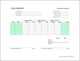 Semi Monthly Timesheet Excel Template Semi Monthly Time Card ...