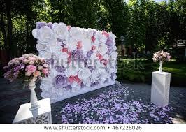 Paper Flower Wedding Decorations Wedding Wedding Day Paper Flowers Wedding Stock Photo Edit Now