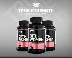 optimum nutrition true strength daily multivitamin opti women multi vitamin