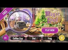 Here you will need to find a hidden element and to complete the game in time. Magic Land Hidden Objects Game World Of Wizards Search And Find Games For Android Youtube