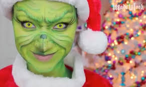 how to do grinch makeup alexis fleming tutorial