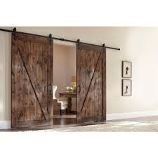 Z-Bar Knotty Alder Interior Barn Door