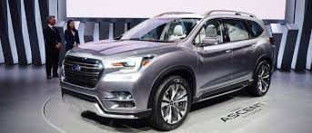 2018 subaru ascent release date. modren release this striking 7seat concept previews subaruu0027s ascent suv for 2018 for subaru ascent release date t