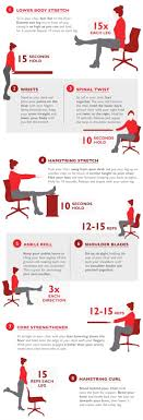 12 exercises you can do even at work