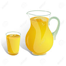 16056957 pitcher and glass of orange drink isolated on white jug juice clipart 1024x1024