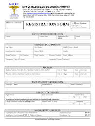 Computer Coaching Admission Form Fill Online Printable