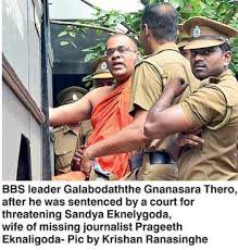 Image result for Gnanasara thero contempt of court