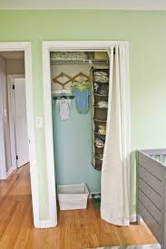 Thinking About Doing To Kids Closets  Accordion Doors Are Getting Beat Up Idea For Bathroom